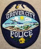 CA Grover City California Police Patch