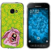 Silicone Case for Galaxy Xcover 4 / 4s Silicone Case Easter M5  Cover
