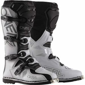 O'Neal Racing Element Boots - Grey/Black, All Sizes