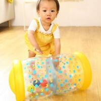 Baby Toy Inflatable Roller Crawl Tummy Time Play Rattle Balls