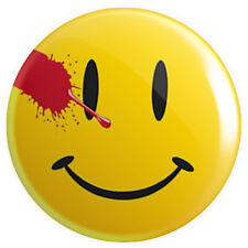 Watchmen Smiley Smily Face Button Pin Badge 25mm 1 Inch DC Comics #2