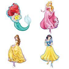 4 X Grande Disney Principessa Supershape Ariel Aurora Belle Biancaneve PALLONCINI Bundle