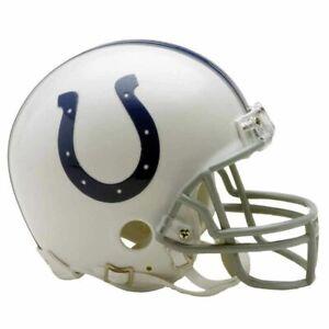 Indianapolis Colts VSR4 Riddell Football Mini Helmet New in box