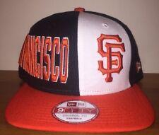 New San Francisco Giants Block Snapback New Era 9FIFTY Hat Cap