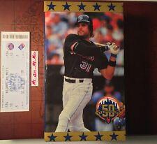 Mike Piazza New York Mets 2012 Citified SGA Bobblehead 50th Anniversary W/ Stub