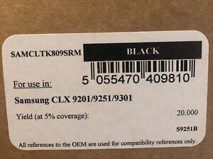 BLACK Toner Cartridge Samsung CLTK809RM