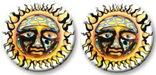 Sublime-2 Button Badge Set-Collector's-Pinback Style-Sun Logo-Licensed New