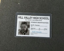 Back To The Future ID Badge - Hill Valley Biff Tannen cosplay prop costume