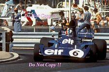 Francois Cevert Elf Tyrell 006 Monaco Grand Prix 1973 Photograph 6