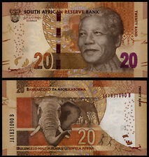 SOUTH AFRICA 20 RAND (P139) N. D. (2015) UNC