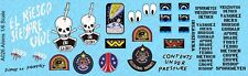 1/6 Scale Aliens Waterslide Decals for Action Figures - NEW IMPROVED