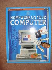 Kalbag, Asha  Homework on Your Computer (Usborne Computer Guides)  Book