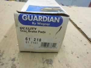 88 Eagle Alliance Front Organic Disc Brake Pads 61-218 BP-103