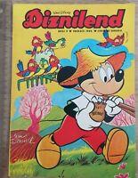 Comic book strip #9 DISNEYLAND Mickey Mouse Donald Duck Goofy Yugoslavia 1982