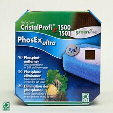 Jbl cristalprofi PhosEX Ultra Pad E1500 E1501 e1901 Phos ex fosfato Greenline
