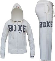 RDX Full Fleece Tracksuit Hoodie Trouser MMA Gym Boxing Shorts Men Pants Bottoms
