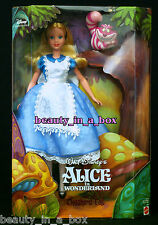 Alice in Wonderland Doll and the Cheshire Cat Disney Collector EXC