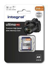 256GB PREMIUM HIGH SPEED SDXC V30 UHS-I U3 SD Memory Card for 4K Ultra HD Video