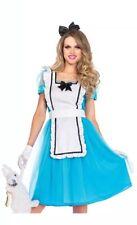 Alice in Wonderland Fairytale Fancy Dress Womens Adults Costume Large UK 12-14