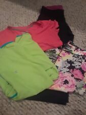 Huge Lot Of Women's Workout Clothes Under Armour Pants Nike T-shirt Fila Running
