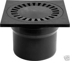 Duschablauf Badablauf Bodenablauf  150x150mm DN110 Dichtungsmatte 323Pc+391/1