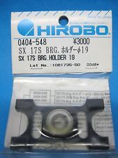 Original Hirobo Kugellager Halter 19 mm 0404-548 SX 17S Bearing Holder Ø19
