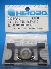 Original Hirobo Kugellager Halter 19 mm 0404-548 SX 17S Bearing Holder Ø19