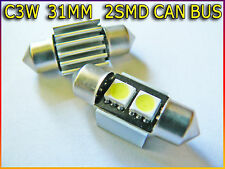C3W 31MM 2 SMD LED CAN BUS OBC ERROR FREE INTERIOR bulbs HONDA