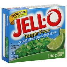 JELL-O~Sugar Free ~ LIME~Low Cal. Gelatin Dessert ~ CHOOSE!