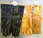 Coach Women's Leather Turn-Lock Cashmere Lined Wrist Gloves 82825 Sz 6.5 /$168