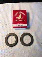 2 NOS National 7721 Front Wheel Seals 1960 61 62 63 64 65 66 67 Cadillac