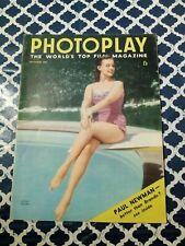 Photoplay Magazine October 1956 Myrna Hansen