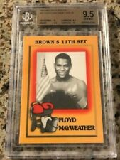 1997 Brown's Boxing #51 Floyd Mayweather BGS 9.5 Gem Mint!! ROOKIE CARD