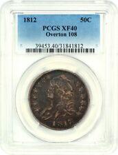1812 50c PCGS XF40 - Bust Half Dollar