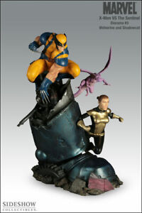 Sideshow XMEN vs Sentinel Wolverine and Shadowcat (Exclusive) statue #173 MIB