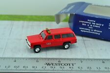Trident Chevrolet Suburban Fire Department Truck 1:87 Scale HO (HO3315)