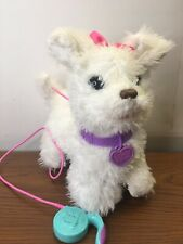 Fur Real Friends Dog Pup Get Up & GoGo With Leash Hasbro 2013