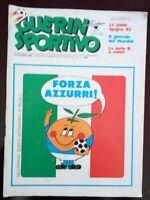 GUERIN SPORTIVO N. 23 DEL 1982 FORZA AZZURRI COCA COLA ALFA ROMEO