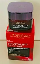 LOREAL PARIS REVITALIFT TRIPLE POWER ANTI-AGING MOISTURIZER REDUCE WRINKLES/FIRM
