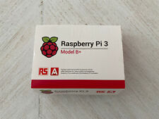 Raspberry Pi 3 Model B+ Retail Box-Includes Power Adapter, SD, and I2C Pi OLED
