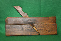 "Clean Antique M. Crannell 1/2"" No 8 Round Woodworking Moulding Plane Inv#EB78"