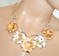 COLLAR mujer oro dorado plata gargantilla perlas cuello redondo elegante N22