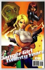 Danger Girl 20 Twenty Years J SCOTT CAMPBELL Original Art Sketchbook 500 Printed