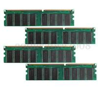 NEW 4GB 4X1GB DDR 400Mhz PC3200 184pin Non-ECC DDR400 PC Desktop DIMM Memory Ram
