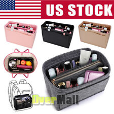 Bag Organizer Felt Cloth Insert 25 30 35 Makeup Handbag Organizer Travel Inner
