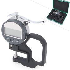 12.7mm Electronic Micrometer Digital Thickness Meter Tester Gauge 0.01mm Depth