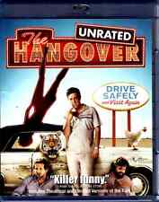 The Hangover (Blu-ray Disc, 2009, Rated/Unrated) Comedy Las Vegas Buddy Comedy