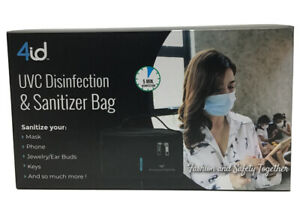 """4 id UV-C Disinfection & Sanitizer Bag - Small Size And Large Capacity (10"""")"""