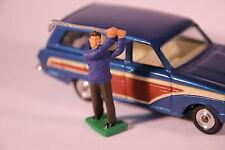 Corgi 440 Ford Cortina Estate - Golfer Figure (Reproduction - Painted)