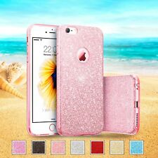 Sparkling Glitter Shockproof Thin Silicone Case iPhone and Samsung Galaxy cover